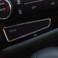 car interior mouldings accessories for kia k5 optima 2011 2015 car dashboard passenger switch sticker car auto part 1pc