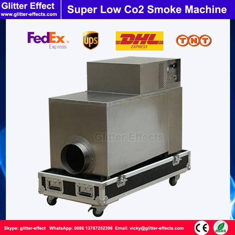 DJ etapa efecto especial 3500W Co2 bajo humo máquina de niebla gran potencia etapa bajo humo Co2 máquina de niebla