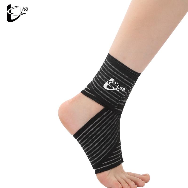 Rodillera protectora deportiva para tobillo, para gimnasio, correr, baloncesto, fútbol, bádminton, protección contra esguince de tobillo