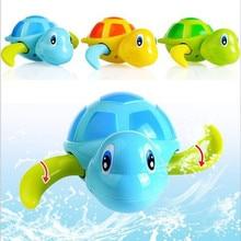 2018 Hot Sale Funny Clockwork Toy Baby Kids Multi-type Wind Up Bathing Shower Clockwork Halobios Toys Tortoise vintage toys T *