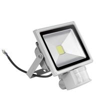 5PCS GERUITE Sensor Flood Light 20W AC 85-265V 1400LM 120 Degree Refletor Induction IP65 Outdoor Lighting Led Floodlight
