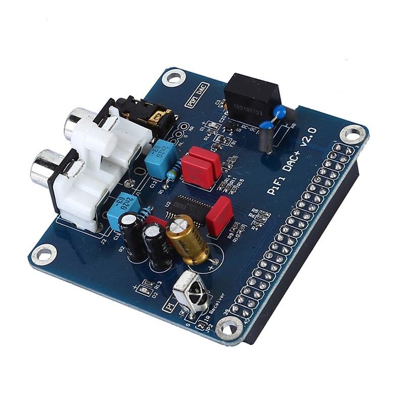 PIFI Digi DAC + HIFI Аудио Звуковая карта модуль I2S интерфейс для Raspberry pi 3 2 Модель B