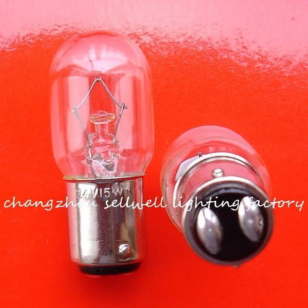 Miniature bulb 24v 15w ba15d t20x48 a944