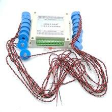 Multiplex 16 weg AC aktuellen frequenz messung erwerb modul RS485 sensor sender MODBUS-RTU