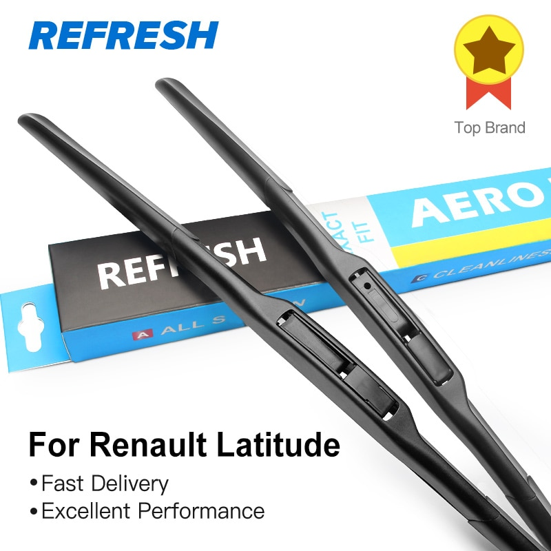 Limpiaparabrisas para Renault Latitude Fit Hook Arms 2010 2011 2012 2013 2014 2015
