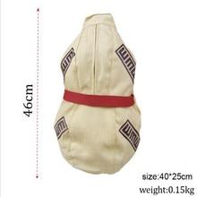 Bolsa para cosplay de naruto sabaku no gaara, bolsa de ombro de pu de lona para halloween e presentes a751
