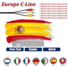 1 Jaar Europa Cccam Cline Server Oscam Cline Met Italiaanse Spanje Portugal Finland Ect Iptv Kanalen Stabiel En Snel