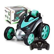 Voiture sans fil RC Tumbling cascadeur camion à benne basculante jouets télécommandés électriques 360 degrés rotation cascadeur RC voitures pour garçons enfants