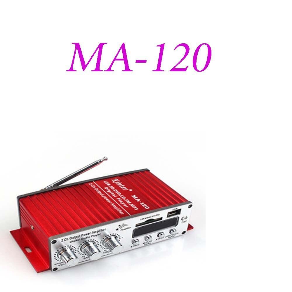 MA-120 amplificador de potencia USB Hi-Fi Digital Olayer estéreo coche motocicleta amplificador...