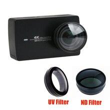 Filtre UV ND densité neutre Filtors couvercle protecteur de lentille pour YI 4 K II Lite accessoires de caméra daction