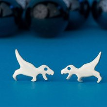 Daisies Cute Cartoon T-Rex Dinosaur Stud Earring Lovely Animal Shape Earrings For Women Pendientes