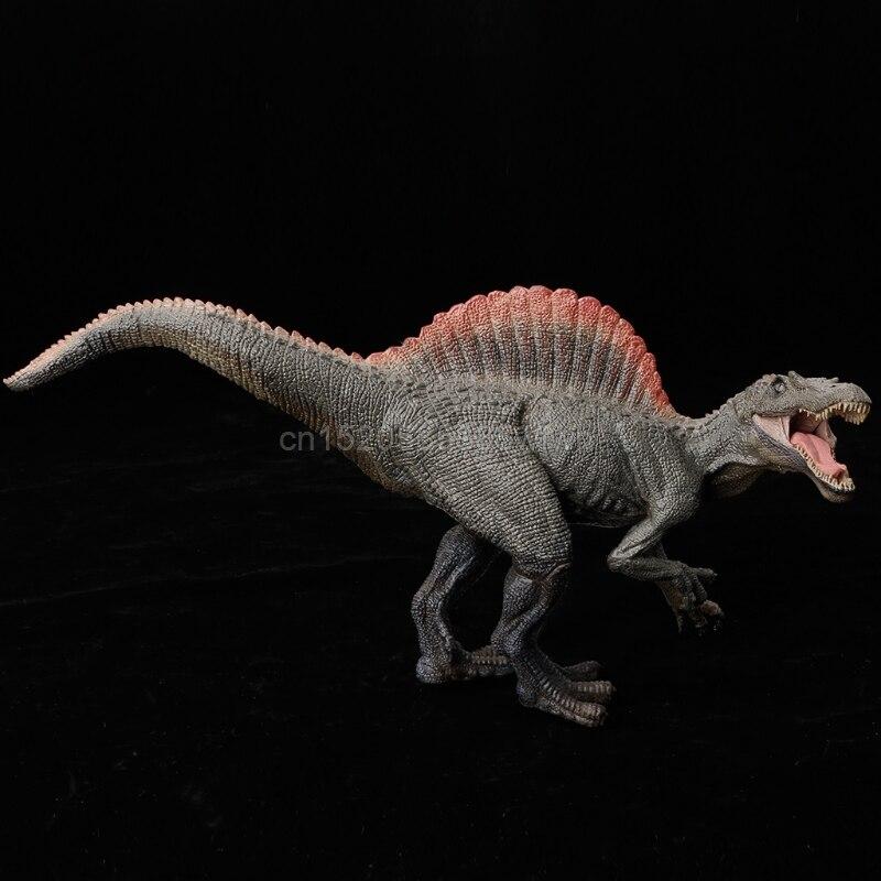 1PC Spinosaurus Dinosaur Action Figure Toys Hand Puppet Kids Educational Model