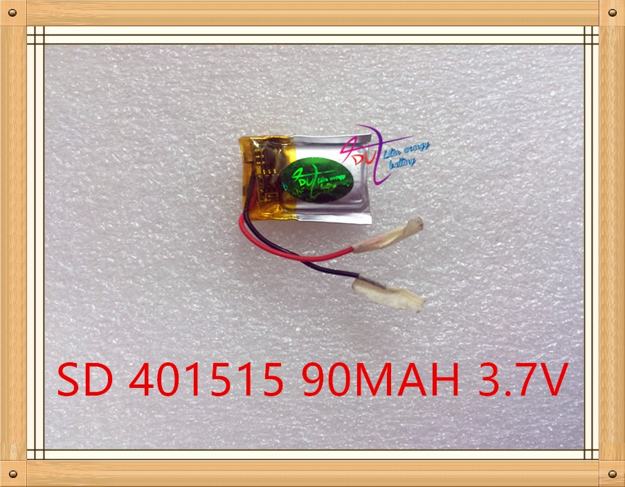 Liter energie batterie 3,7 V lithium-polymer akku 401515 90 MAH 401517 MP3/4/5 Bluetooth sprech batterie monitor