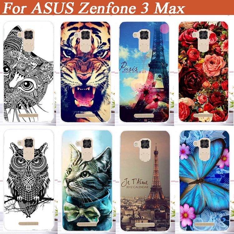 Модные самодельные Чехлы для Asus Zenfone 3 Max ZC520TL с 3D рисунком, чехлы для телефонов с мультяшным рисунком для Asus Zenfone 3Max ZC520TL