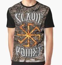 All Over Print T-Shirt Men Funy tshirt Slavic Power Kolovrat Symbol Little Sun Graphic Tops Tee women t shirt