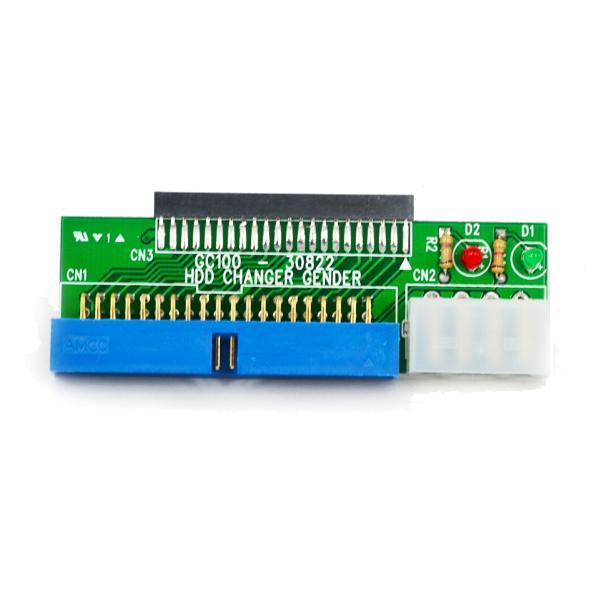 """Kebidumei 44 Pin 2,5 """"HDD 3,5"""" IDE 40 Pin Interface Festplatte HDD Konverter Adapter für laptop Desktop PC Computer"""