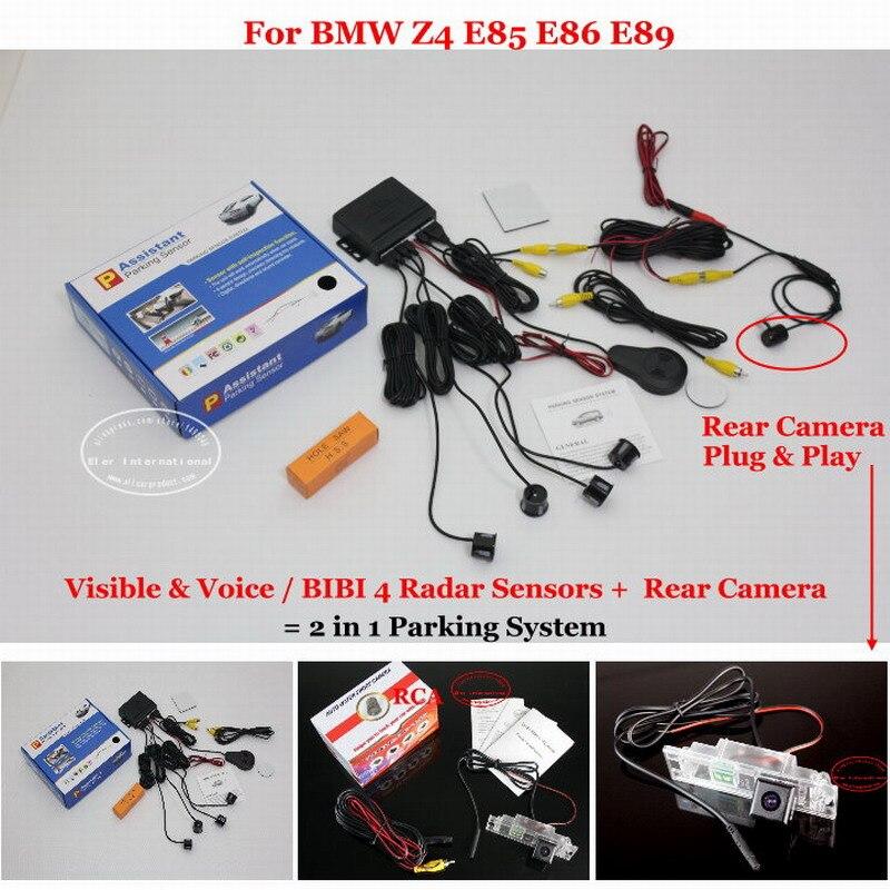 Bmw Z4 E85 E86 E89 駐車場センサーセンサーオート警報システム highquality リヤビューカメラ