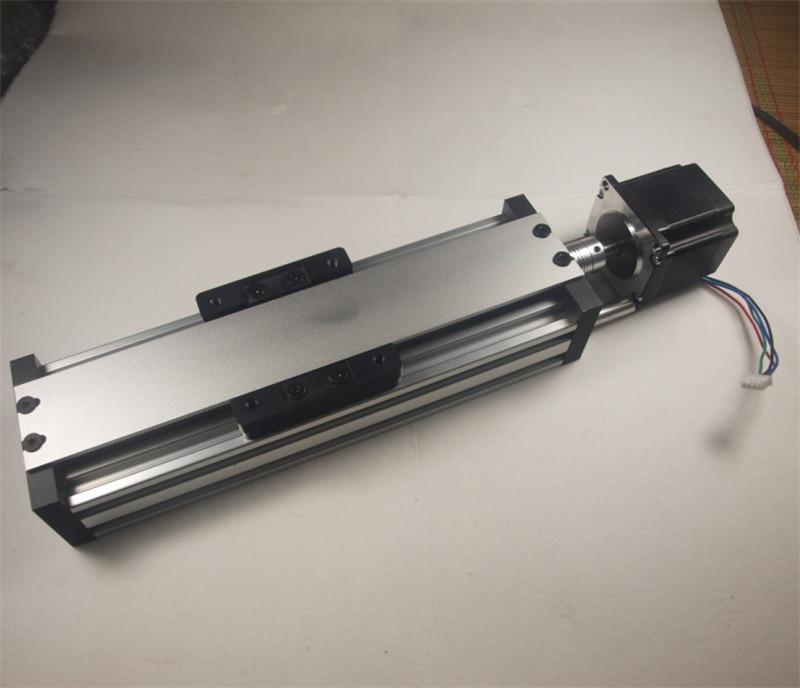 Kit de actuador lineal NEMA 23, 250mm, de haz c con motor paso a paso NEMA 23