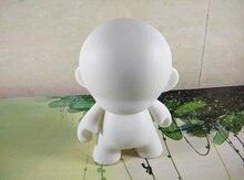 10 pcs/Lot 4 pouces Kidrobot Munny poupées blanches bricolage vinyle Art Figure jouets avec sac Opp
