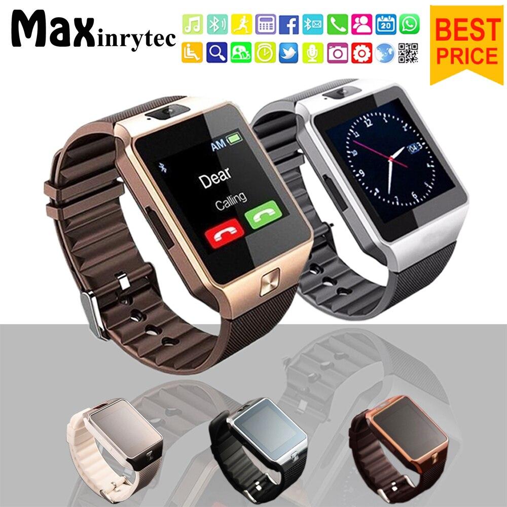 Reloj inteligente Bluetooth DZ09, teléfono Android, tarjeta Sim, cámara para hombre y mujer, reloj de pulsera deportivo para Iphone IOS PK Y1 A1 GT08, reloj inteligente
