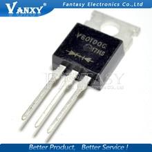 5PCS V60100C TO-220 V60100 TO220 packaged Schottky diode common cathode 60A 100V original authentic