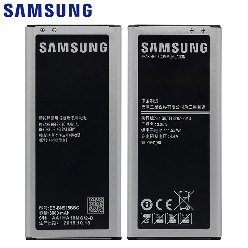 Samsung EB-BN915BBE Bateria Do Telefone Para Samsung GALAXY Note Borda N9150 N915FY G9006V N915S N915L N915K N915F N915DSM-N915G NFC