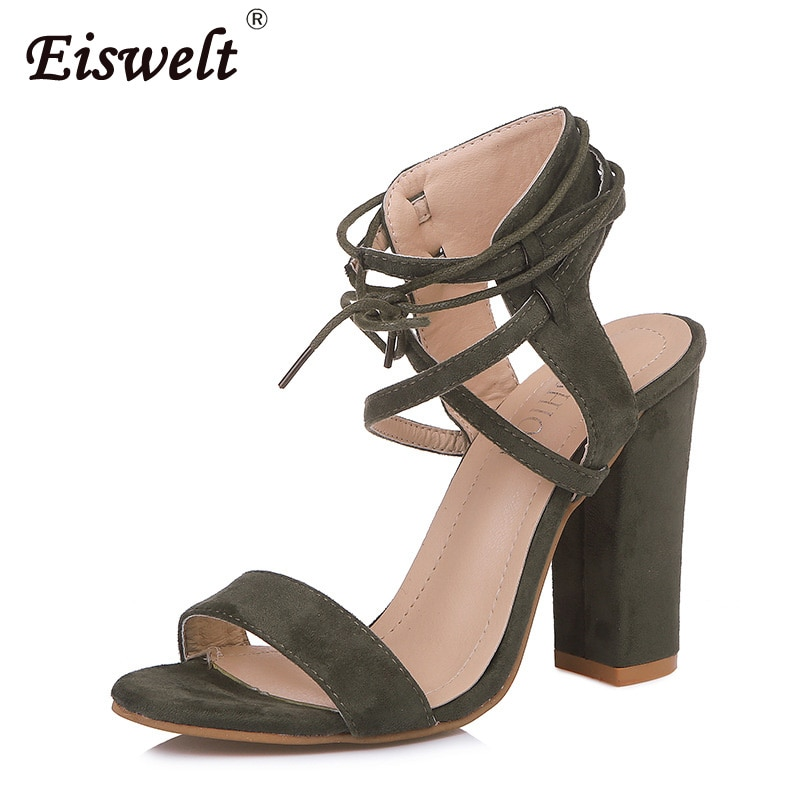 Zapatos de verano para mujer, Sandalias de tacón alto con tiras cruzadas para mujer, sandalias sexis de moda Instagram para mujer, temporada de verano