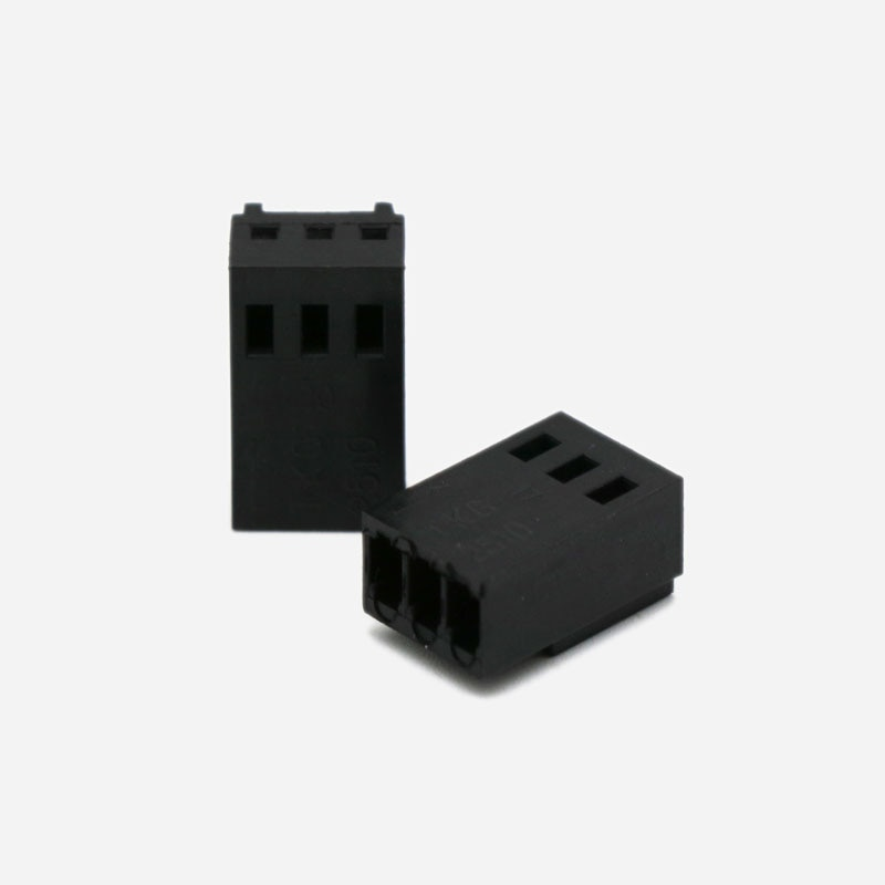 Angitu 2510 2540 3pin PWM hembra conector carcasa con 3 piezas gratis terminales