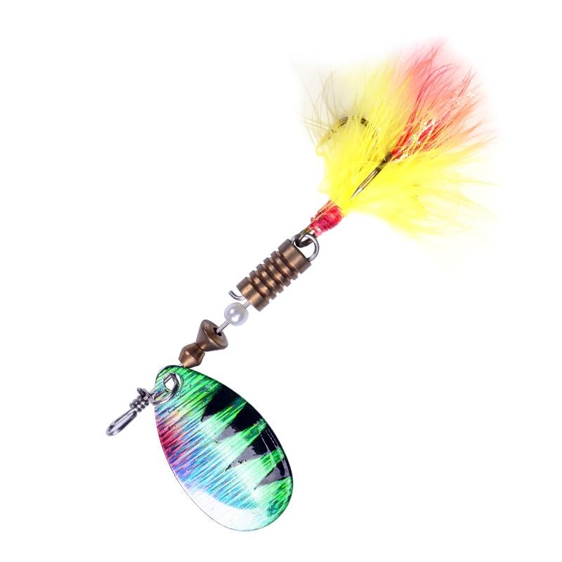 Hexakill 1Pcs 4g 6g ספינר כף מתכת פיתיון דיג פיתוי Wobblers CrankBaits לנענע זרח מתכת נצנצים פורל מתכת מפזזי פיתוי
