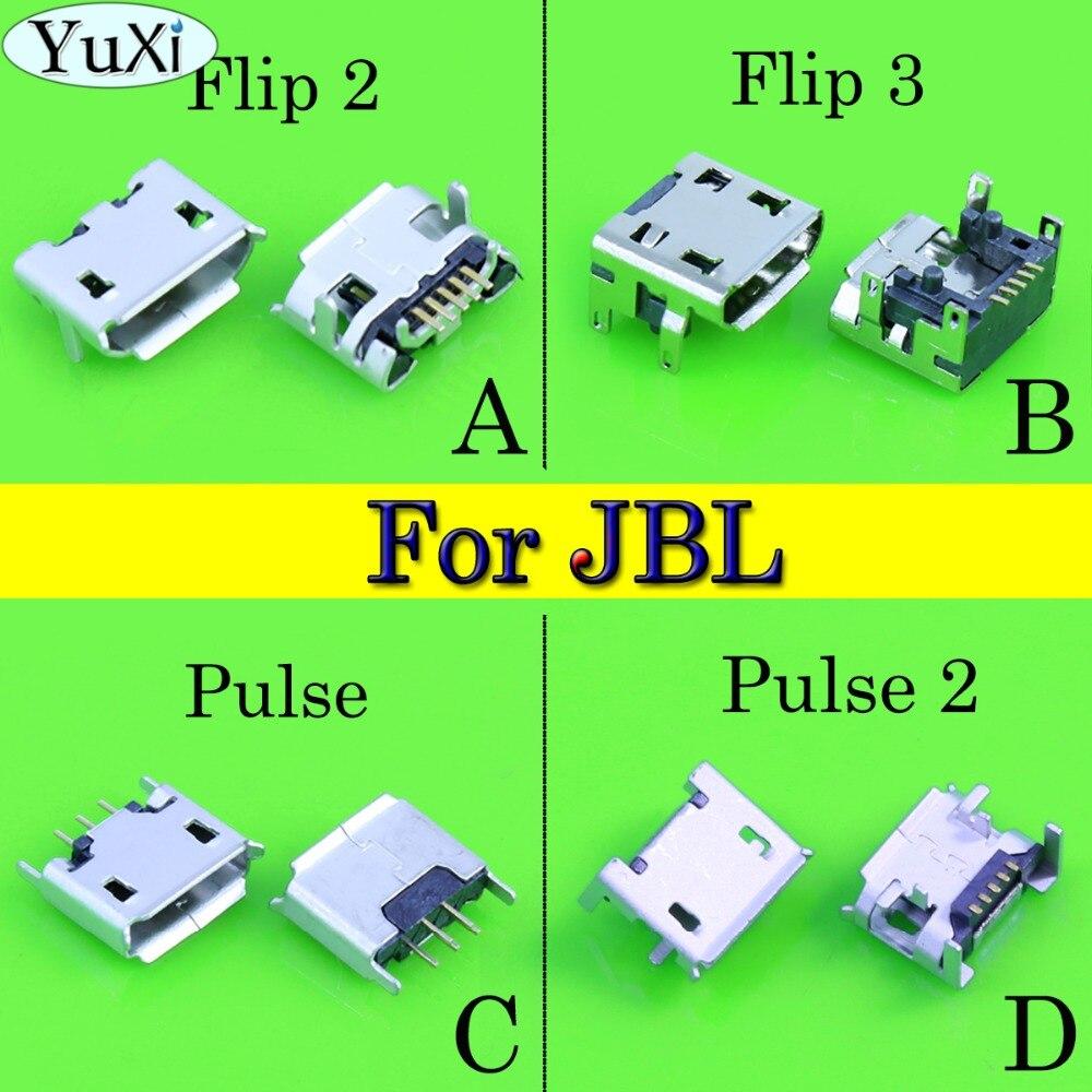 YuCi 4 шт./лот для JBL FLIP 3 2 Pulse 2 Bluetooth динамик порт зарядки Micro USB зарядное устройство разъем