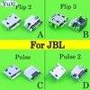 YuCi 4 adet/grup JBL FLIP 3 2 Darbe 2 bluetooth hoparlör mikro usb şarj portu şarj bağlayıcı