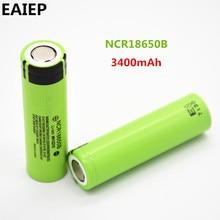 100% New Original EAIEP NCR18650B 3.7 v 3400 mah 18650 Lithium Rechargeable Battery EAIEP Flashlight batteries