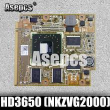 Asepcs mobilité Radeon HD3650 (adaptateur), DDR2 1024MB MXMII 128Bit carte VGA pour For Asus F8VA F8SP