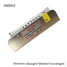 Entrée: 110-220 V sortie: DC 24 V 3A 72 W transformateur pour bande lumineuse 24 V LED