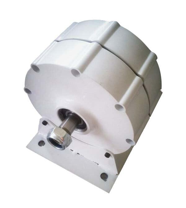 3 Fase AC 500W 600W imán permanente generador con Base