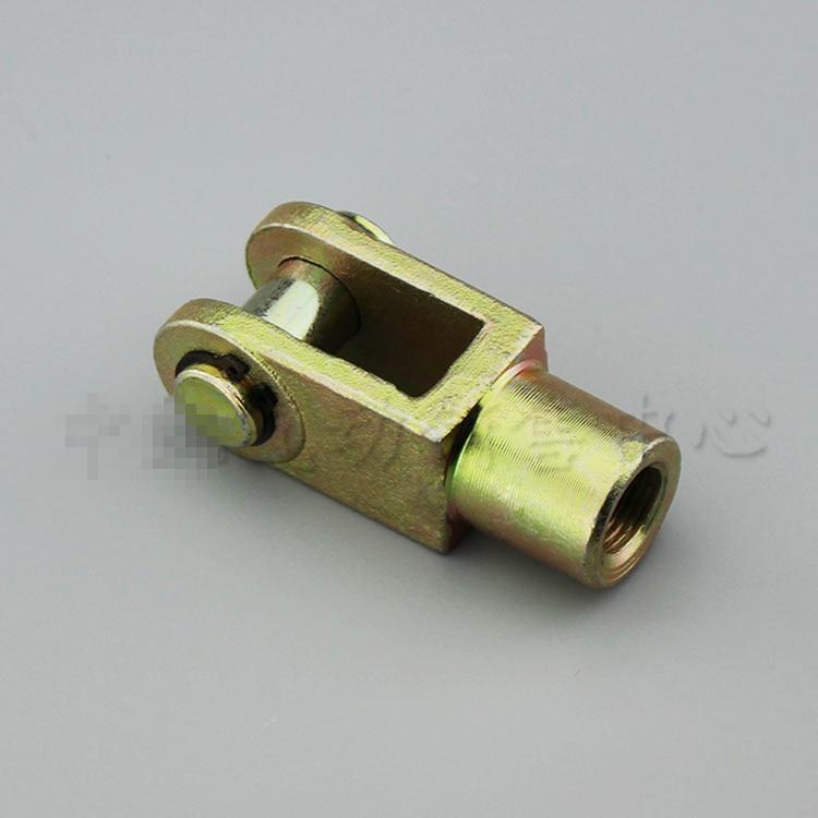 2 uds. M12x1.25mm Y junta, rosca hembra a macho, pistón del cilindro neumático, horquilla, diámetro del cilindro 40