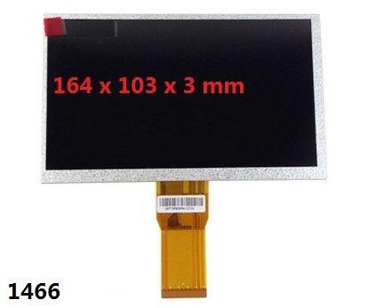"163*103 * mm 7 3 ""50pin Lcd display Para LOGICOM E731 matrix Screen Display Substituição Tablet"