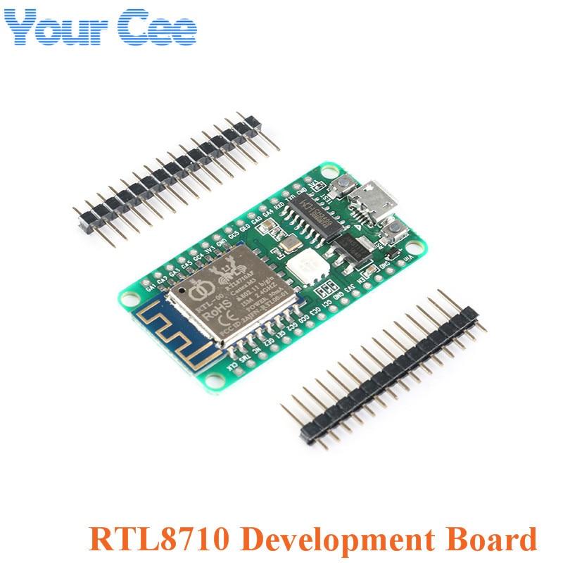 1 pc nueva llegada Nodemcu RTL8710 módulo wi-fi módulo transceptor de prueba, placa de desarrollo transmisor receptor RTL-00