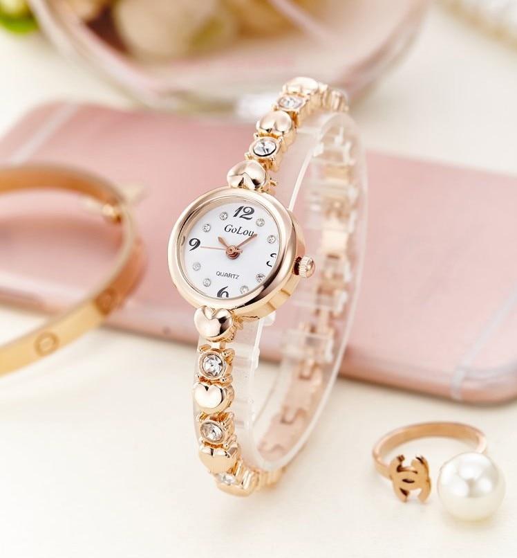 Reloj de moda para mujer con diamante dorado reloj de marca de lujo para mujer reloj pulsera de joyería relogio femenino