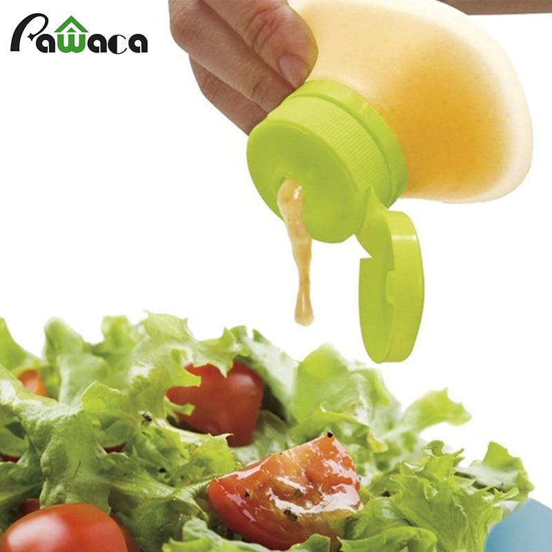 Mini Silikon Salat Dressing Container Lagerung Kleine Dip Würze Leck Beweis Sauce Gläser Squeeze Flasche Küche Werkzeuge 2 Unze