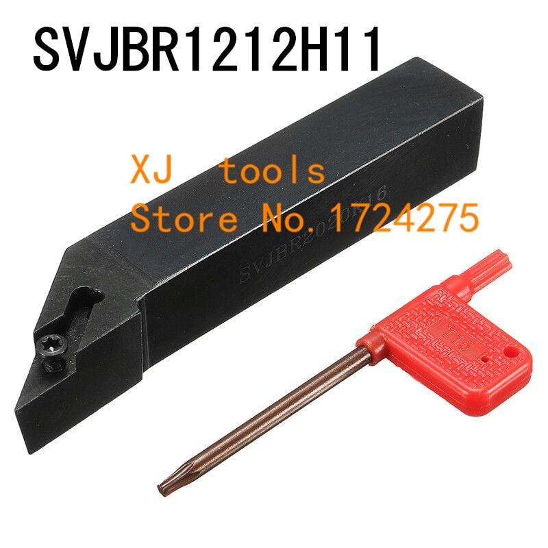 SVJBR1212H11/SVJBL1212H11 de Metal Ferramentas De Corte Torno Cnc Máquina de torno Ferramentas de Torneamento Torneamento Externo Ferramenta Titular S-Tipo SVJBR/L