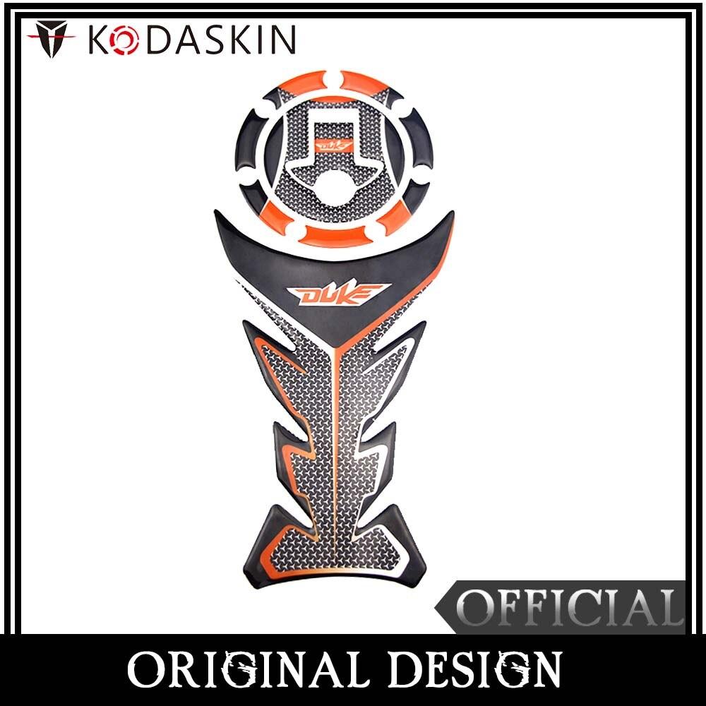 KODASKIN 3D almohadilla protectora de tanque de combustible de la etiqueta engomada del 125 de 200, 390 DUKE 790adv 790 adv-