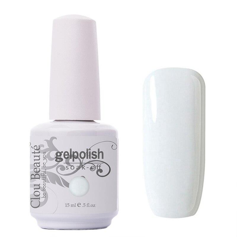 Clou Beaute de uñas de 15ml de gran calidad, colorido Gel de uñas Soak Off, esmalte de uñas con lámpara UV LED, barniz en Gel de esmalte de uñas, Gel UV