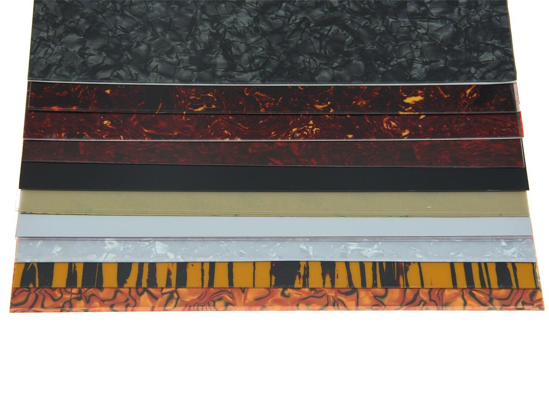 Guitarra acústica KAISH de 25x20 cm, placa autoadhesiva para rascar, hoja de Material para golpeador, disponible en 10 colores
