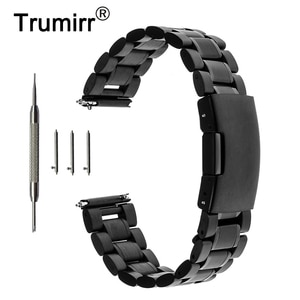 18mm Stainless Steel Watchband Quick Release for Huawei Watch 1st / Huawei Fit Asus ZenWatch 2 45mm Women Metal Band Wrist Strap