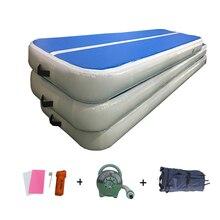 Tapis gonflable de voie dair de 3x2x0.3 tapis de culbutage de gymnastique Airtrack avec le matelas de Cheerleading de Yoga dentraînement de pompe à Air pour lusage à la maison