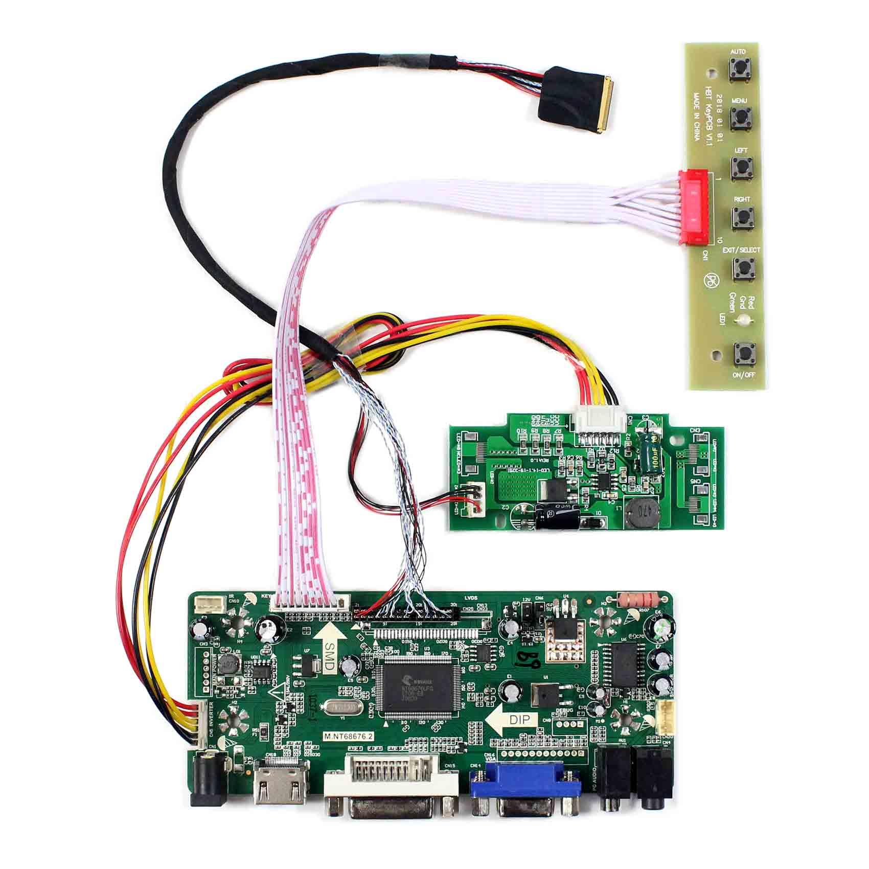 Hdmi dvi vga placa de controlador lcd para 15.4 polegada ltn154bt08 lp154wp3 LP154WP4-TLB lcd