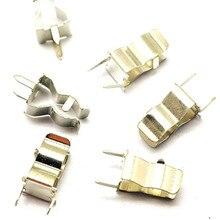 100pcs 5*20mm Portafusibile 6*30 MILLIMETRI Pinze Vetro Veloce Veloce Colpo Fusibili Supporto della Saldatura 5X20MM 6X30MM