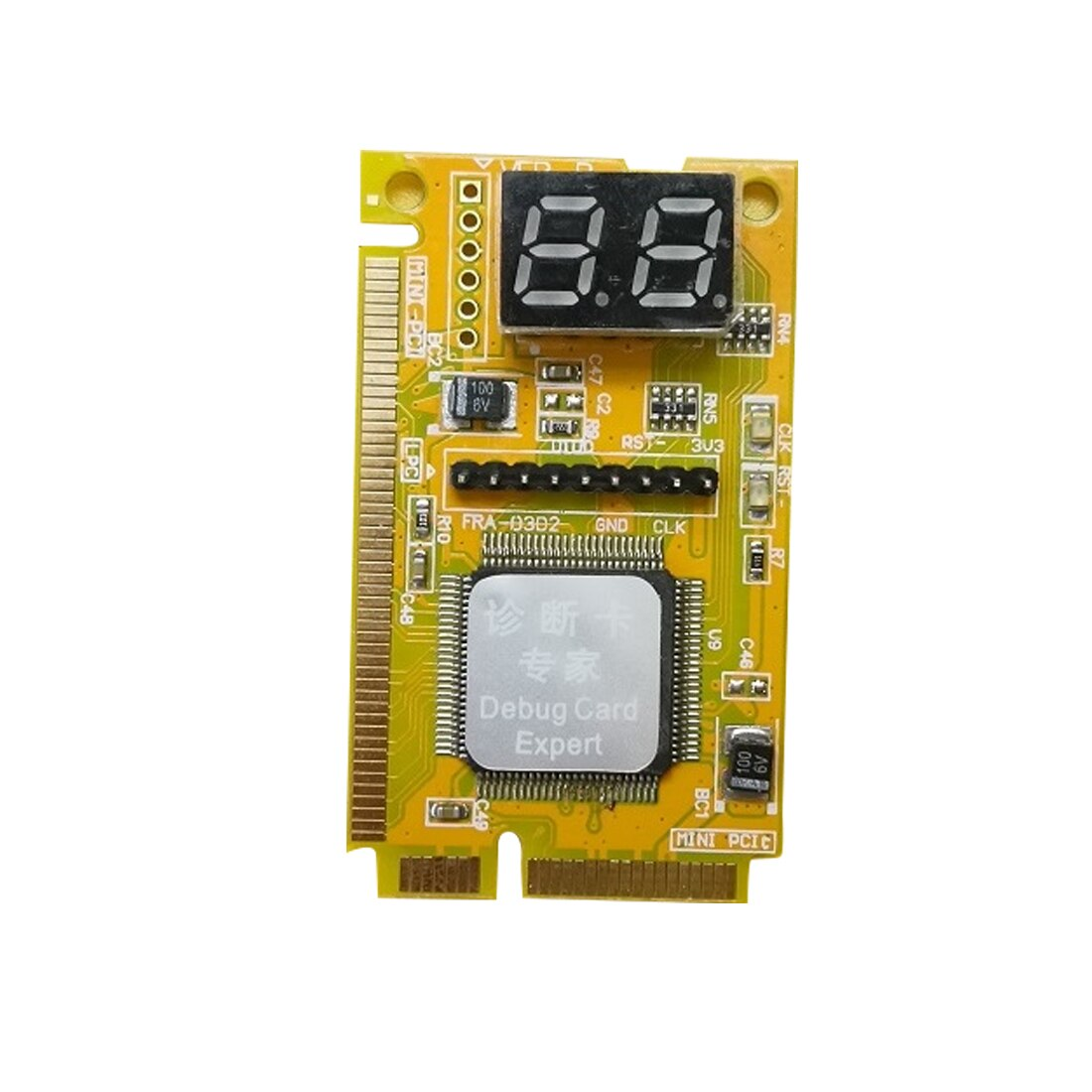 NOYOKERE Brand New Diagnostic Post Card USB Mini PCI E PCI LPC Analyzer Tester for Laptop Notebook High Quality
