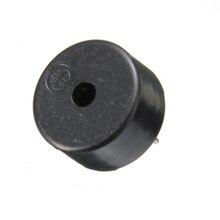 2017 en plastique noir 14x7mm 2 broches passif piézo Buzzer AC1-3V transducteur piézo-électrique avec des composants acoustiques de plomb volant
